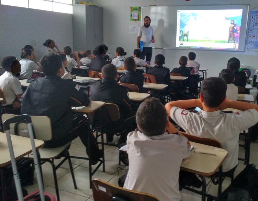 Projet Classcraft Suisse-Brésil : recueil de données à Uberlandia