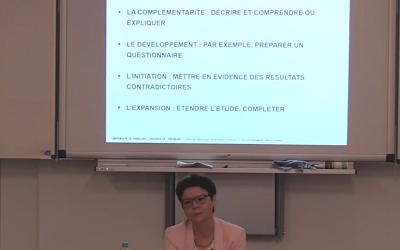 6 ème séminaire du CERF: méthodes mixtes et postures épistémologiques