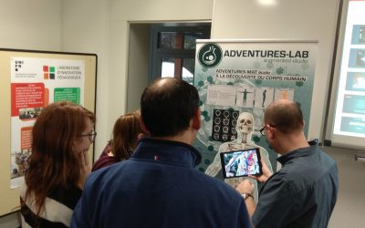 Enseigner les sciences avec la réalité augmentée : partenariat avec Adventures-Lab