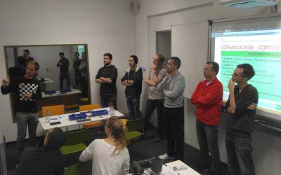 Scénarisation du jeu Programming Game, un jeu d'apprentissage de la programmation