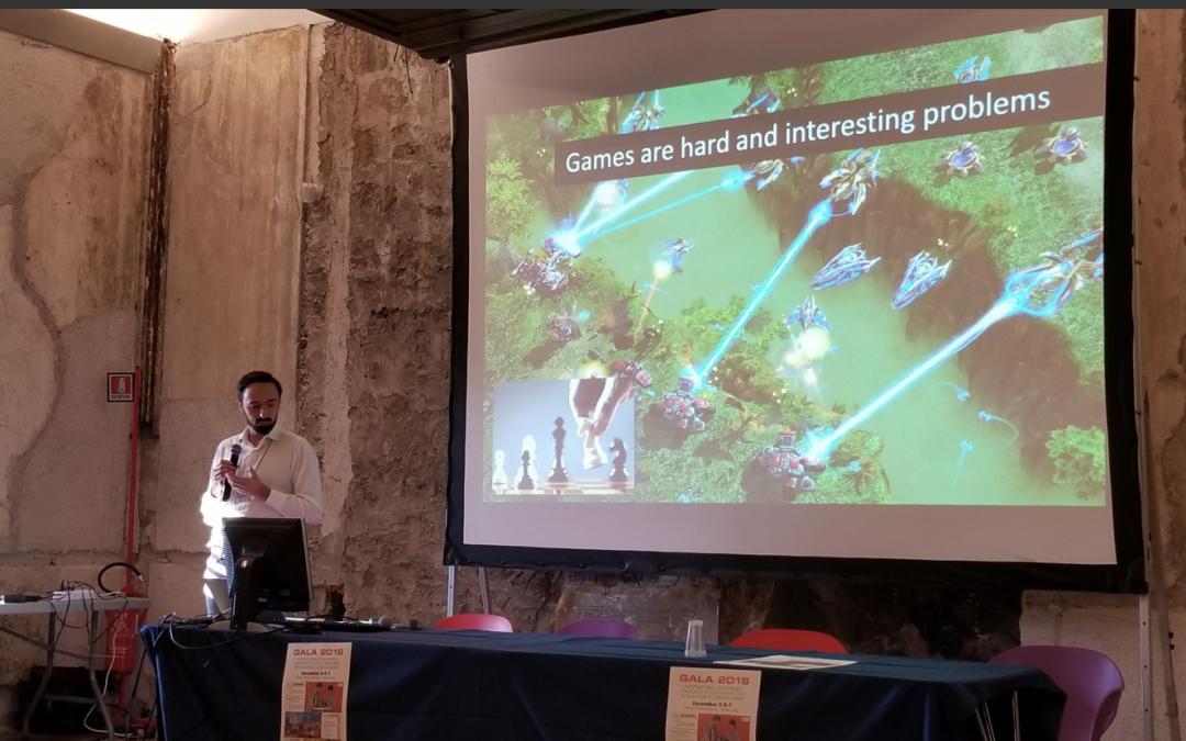 Conférence GALA (SGS) à Palerme (Italie) – jour 3 (07.12.18)