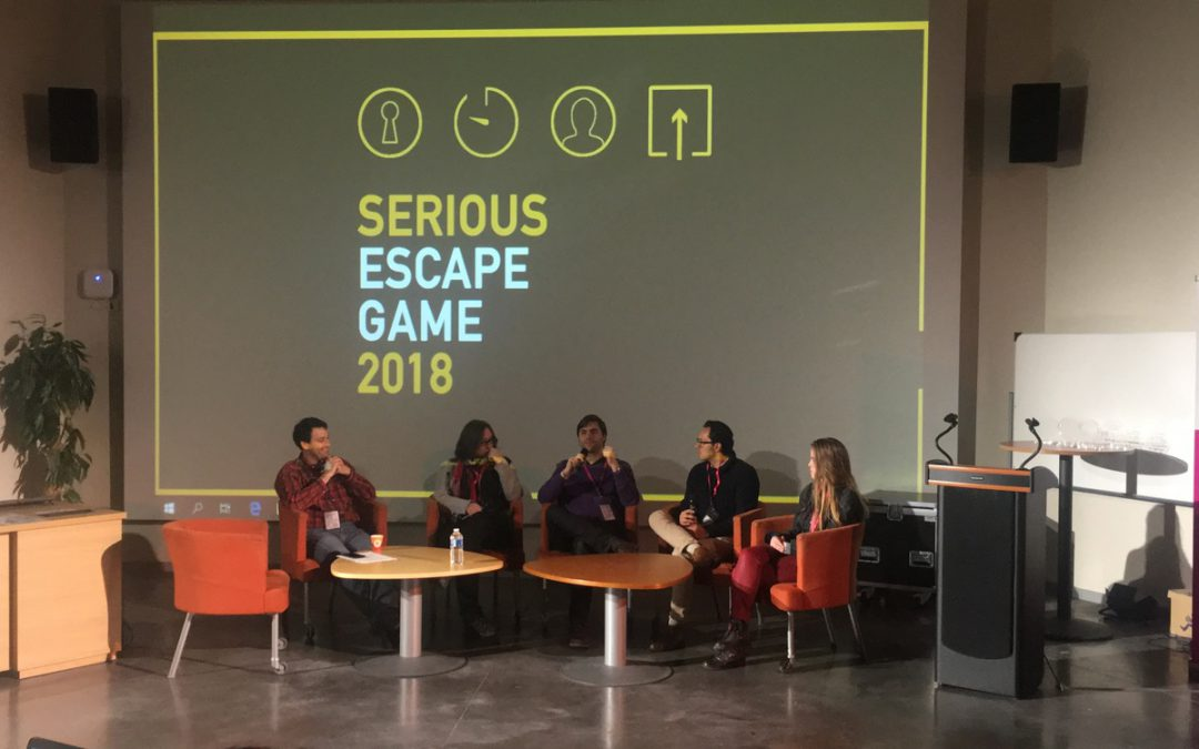 Serious Escape Game Lille – Jour 1