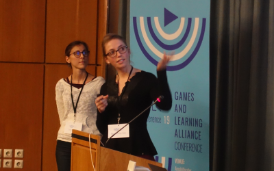 Game and Learning Alliance Conference – Jour 2