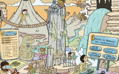 """""""Geome"""", un juego para comprender el Antropoceno durante las visitas escolares a un museo"""