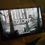 Premiers tests du jeu Geome au musée de la Nature à Sion